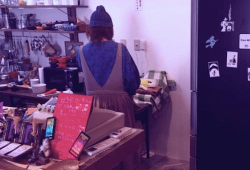 魔法cafe 魔女のかまどの占い師さん