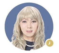 LINEトーク占いに在籍している知千先生の公式画像