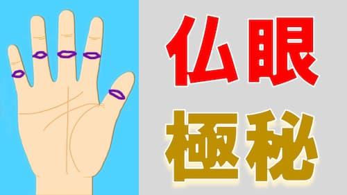 占い館セレーネYouTubeチャンネルで水森太陽先生による仏眼手相動画が公開!